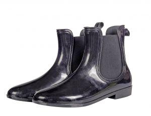 Boots caoutchouc vernis