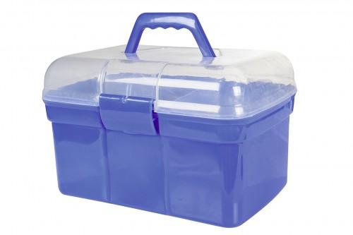 Boîte pansage + 6 accessoires - Boîtes de pansage & sacs