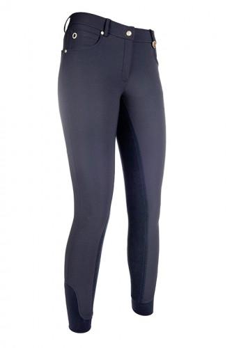 Pantalon LG Basic, fond peau - Pantalons d'équitation à fond intégral