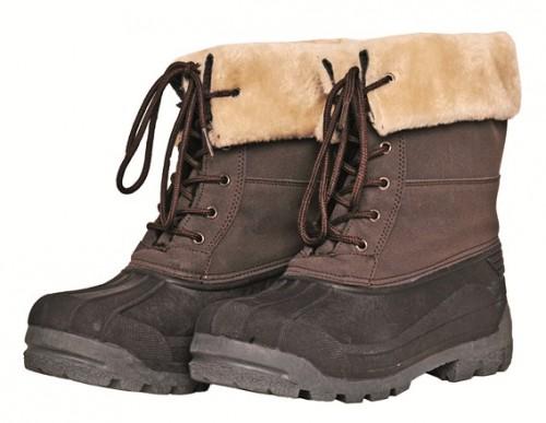 Chaussures de travail HKM London - Boots d'équitation d'hiver