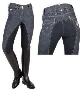 Pantalon MISS BLINK HKM, fond peau
