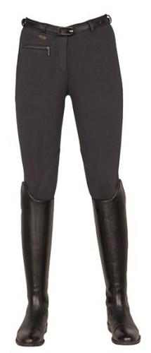 Pantalon Basic Dames HKM - Pantalons d'équitation à basanes