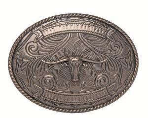 Boucle de ceinture Texas Longhorn HKM