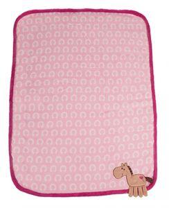 Couverture Câline Enfant rose