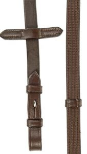 Rênes HUNTER HKM marron