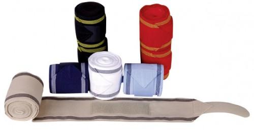 Bandes polaire/élastique BLANC - Bandes de travail