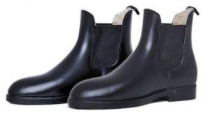 Boots caoutchouc fourrées