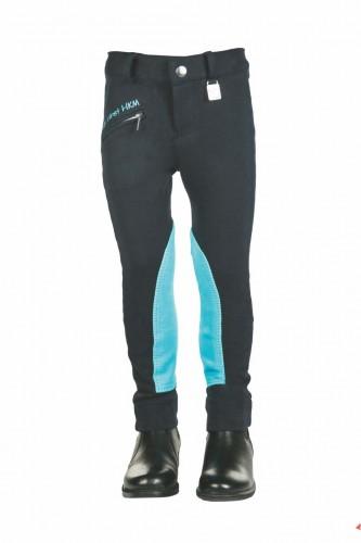 Pantalon MY FIRST HKM - Pantalons d'équitation à basanes enfant