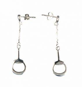 Boucles d'oreilles en argent GEBISS