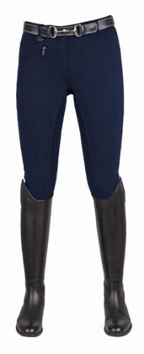 Pantalon Juniors BASIC Belmtex Grip HKM, fond peau - Pantalons à fond intégral enfant