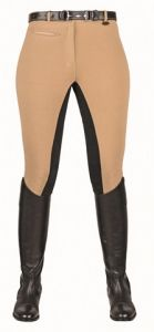 Pantalon STRETCHY HKM, Fond peau