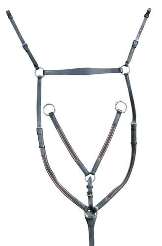 Collier de chasse HKM, bouclerie inox - Colliers de chasse