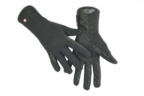 Gants Professional Polaire/silicone HKM - Gants d'équitation d'hiver