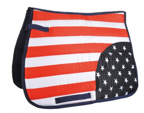 Tapis de selle FLAGS ALLOVER HKM