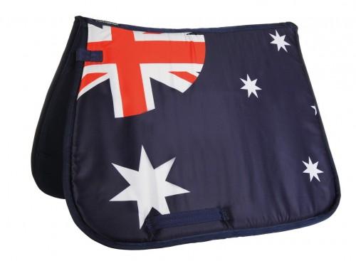 Tapis de selle FLAGS ALLOVER HKM - Tapis de selle