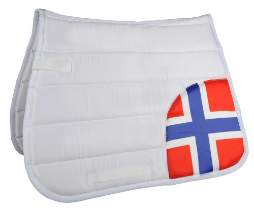 Tapis de selle FLAGS CORNER HKM - Tapis de selle