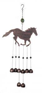 Suspension musicale, cloches métalliques