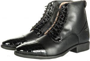 Boots REX CROCO à lacets