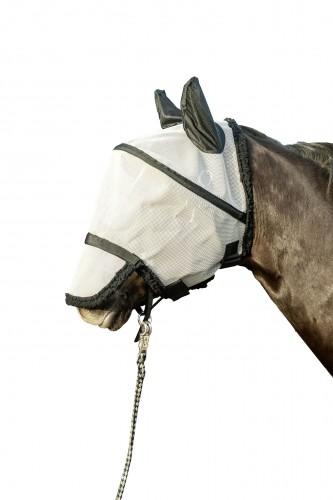 Masque anti-mouches, protection nasale détachable - Masque et frontal anti-mouches