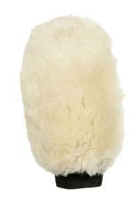 Gant de pansage en mouton