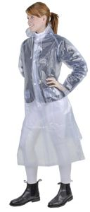 Imperméable transparent long HKM, Junior