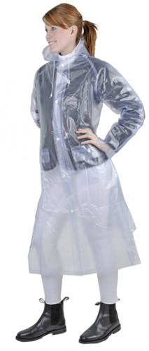 Imperméable transparent long HKM - imperméables d'équitation homme