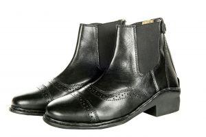 Boots cuir Elastiques & Zip