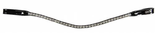 Frontal coeurs strass