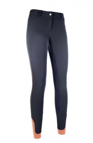 Pantalon SIENA Piping fond peau - Destockage mode femme