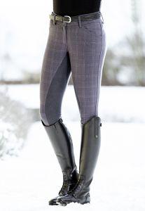 Pantalon SCOTLAND KARO fond peau