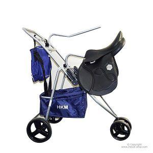 Chariot porte-selle, pliable