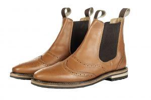 Boots cuir REX ROM