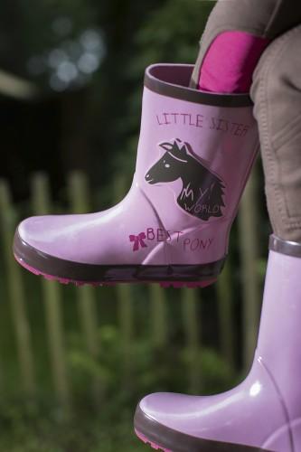 Bottes caoutchouc PRINCESS - Bottes & boots d'équitation enfant
