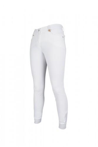 Pantalon LG BASIC basanes Silikon - Pantalons d'équitation à basanes