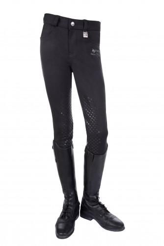 Pantalon KIDS EASY Silikon - Pantalons d'équitation à basanes enfant