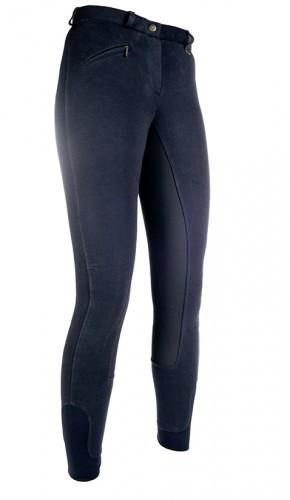 Pantalon Basic Belmtex Grip EASY, fond peau - Pantalons d'équitation à fond intégral
