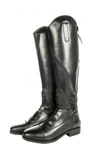 Bottes cuir GIJON, Mollet standard/Tige courte