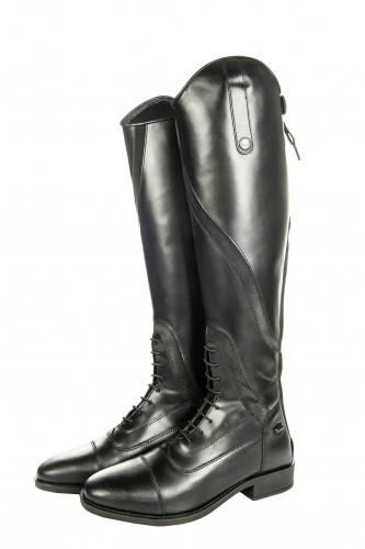 Bottes cuir GIJON, Mollet standard/Tige courte - Bottes d'équitation