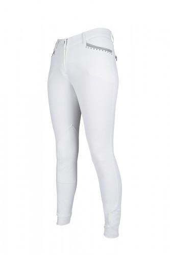 Pantalon 36 Soft Powder - Pantalons d'équitation à basanes