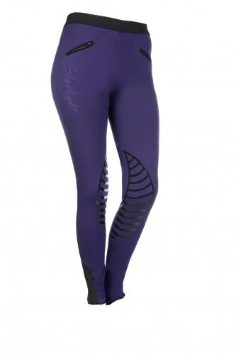 Pantalon STARLIGHT Silikon - Pantalons d'équitation à basanes