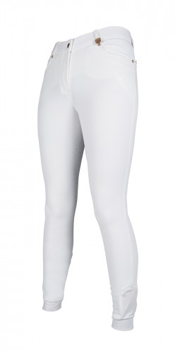 Pantalon LG BASIC Fond Silikon - Pantalons d'équitation à fond intégral