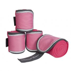 Bandes polo Diamonds Pink Star