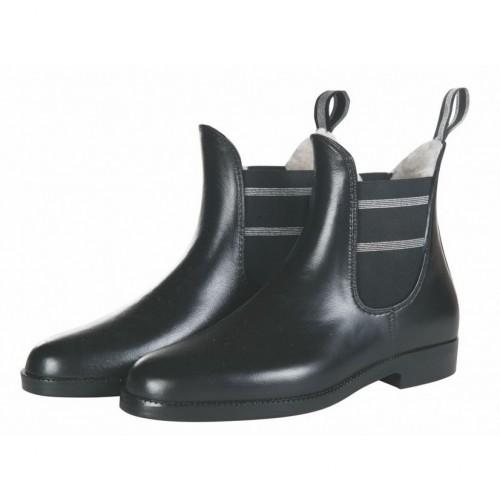 Boots caoutchouc fourrées STYLE - Boots d'équitation d'hiver