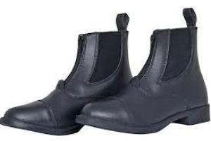 Boots cuir ZIP