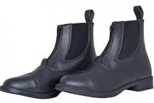 Boots cuir ZIP - Boots d'équitation