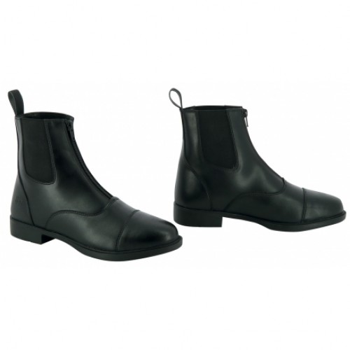 Boots synthétique ZIP