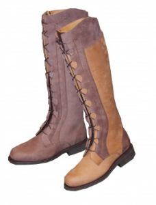 Bottes Charles de Nevel DIANE, Gold/Arabica