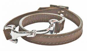 """Bracelet en cuir """"MORS"""""""