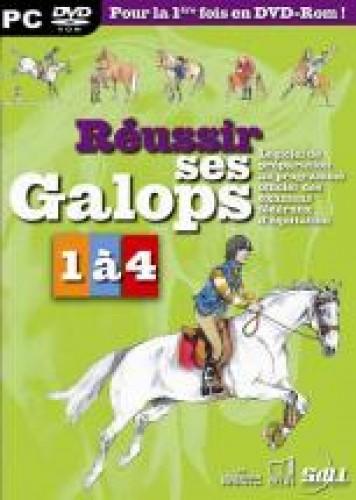 CDROM : réussir ses galops 1 à 4 - Livres & DVD d'équitation