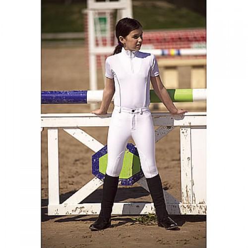 """Pantalon Equi-Thème """"Pro Coton"""" - Pantalons d'équitation à basanes"""